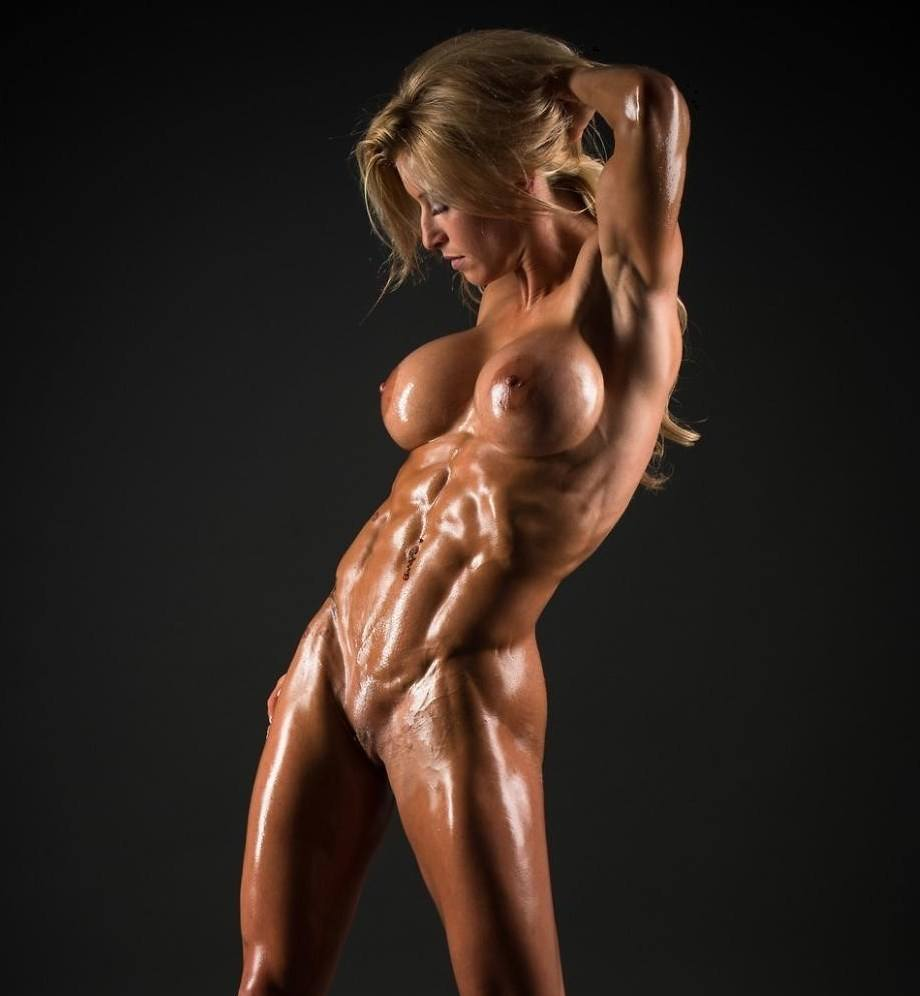 girl Naked muscle