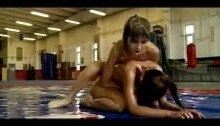 Sophie and Doris Oil Wrestling WWE porn