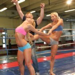 WWE Porn - Sporty babes are into rough lesbian wrestling