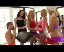 Fitness porn – Gym Orgy with hot gym bunnies