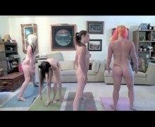 Porn Star Naked Yoga