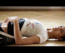 Pantyhose Yoga porn