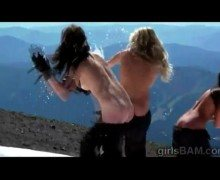 Extreme sports athletes gone wild in this XXX reality – Nude sports