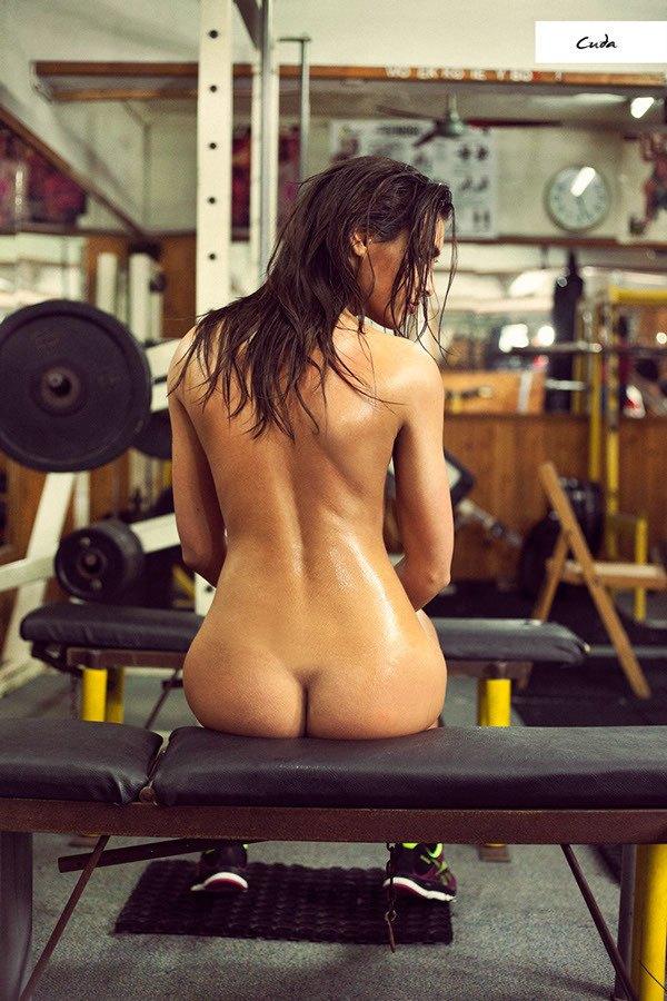 Model nackt fitness frau Nackt sport