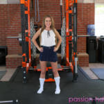Lilly Ford gets drilled in the gym after school - Gym porn