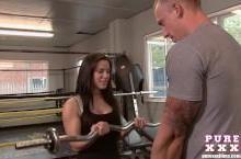 Fitness porn – Athina Loves the Gym
