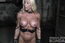 Muscular Jill Still Bound and Pissed Off – Nude fitness models