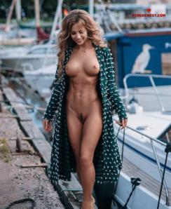 Nude athletic bodies