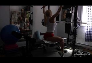 JennyPoussin Naughty Workout – Nude fitness models
