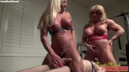 Ashlee Chambers and WildKat Treat A Slave Well – Muscle porn