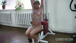 Teen Nudist Workout