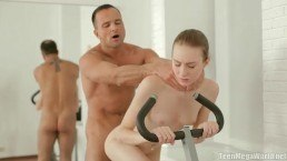 CReampied by Her Coach at the GYm… FUCk her GOOD