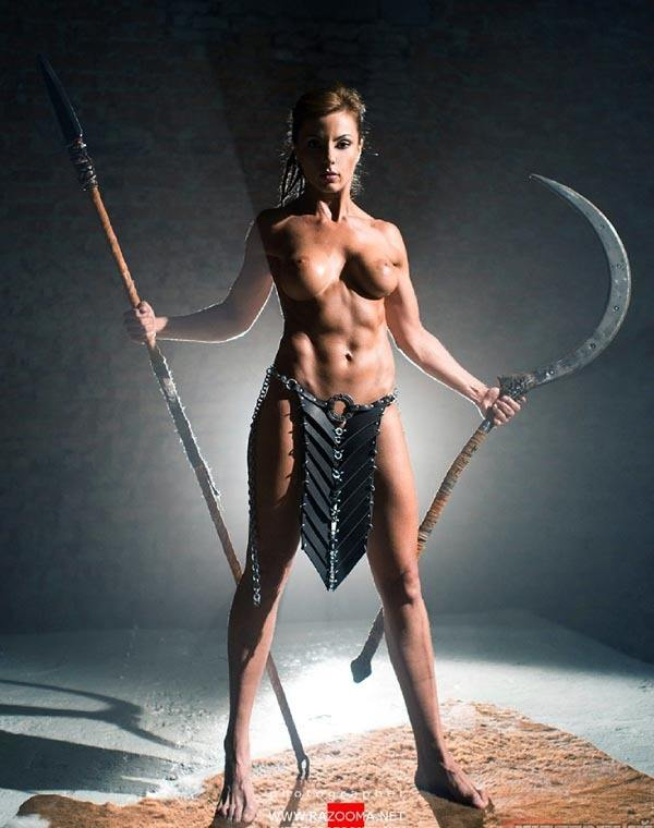 Naked women barbarians 9