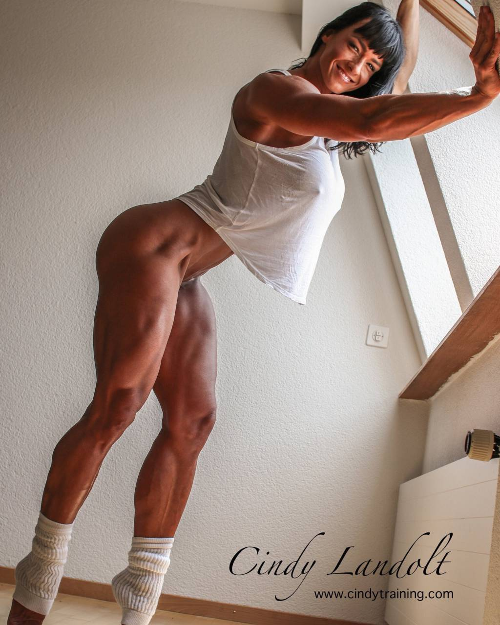 Cindy Landolt  nackt