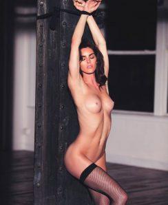Hilary Rhoda nude