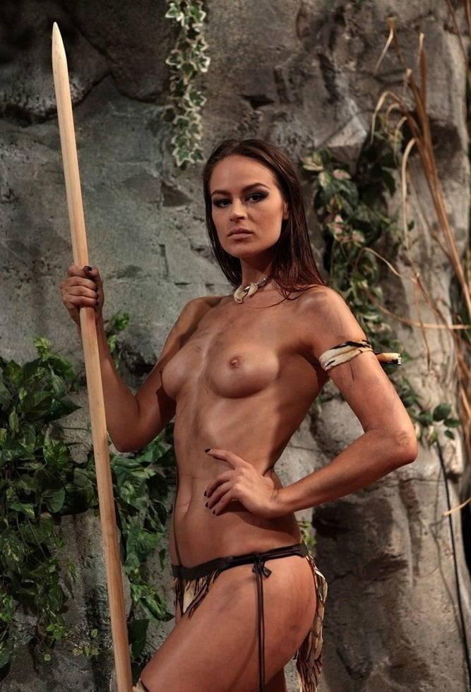 Naked Warrior Women