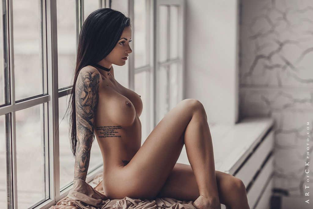 Nude anya Posed nude