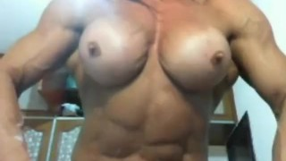 Nude Muscle girl FBB porn