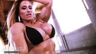 Girl With Muscle & Massive Fake Tits Maria Garcia